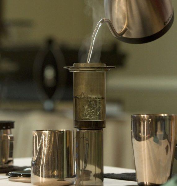カッコいいコーヒー器具【エアロプレス】